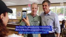 Beto O'Rourke Unveils Plan to Improve Care For Veterans