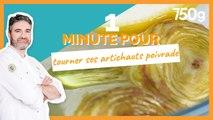 1 min pour... Tourner ses artichauts poivrade- 750g