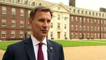 Jeremy Hunt will 'stand tall' with more defence spending