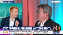 """Adrien Quatennens: """"Si vous voulez une carrière d'une semaine, faites un post Facebook pour dire que vous quittez La France insoumise"""""""
