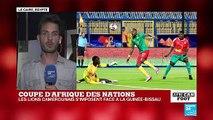 CAN-2019 : le Cameroun s'impose 2 buts à 0 contre la Guinée-Bissau