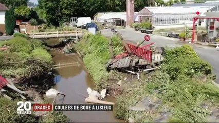 Intempéries : Lisieux sous la boue