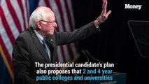 Bernie Sanders wants to erase all student loan debt