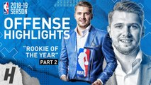 Luka Doncic BEST Offense Highlights from 2018-19 NBA Season- ROOKIE OF THE YEAR (Part 2)