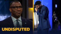 'It was a great moment': Shannon Sharpe on Giannis winning MVP - emotional speech - NBA - UNDISPUTED