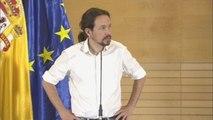 Iglesias insiste en la coalición y baraja un 'no' a la investidura de Sánchez