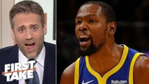 Max Kellerman doubts if Kevin Durant will ever be the same after Achilles injury - First Take