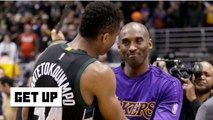 Giannis rises to Kobe's challenge with MVP honors - Get Up