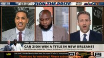 "FIRST TAKE - Stephen A. ""SURPRISED"" : Zion Williamson drafted No.1 overall by Pelicans"