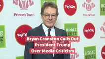 2019 Tony Awards: Bryan Cranston Calls Out President Trump Over Media Criticism