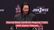 Marvel Boss Confirms Regular Talks With Keanu Reeves