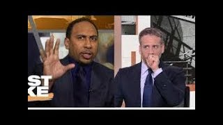 Stephen A ANGRY with Max when he said Giannis is not DESERVE to win the MVP