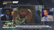 UNDISPUTED - Skip and Shannon DEBATE: Did Danny Ainge take a shot at Kyrie Irving?