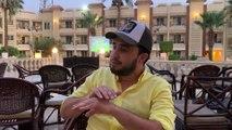"""Merrouane Guerrouabi : """"J'ai tout lâché pour venir au Caire soutenir les Verts"""""""