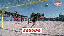 L'envolée victorieuse de Suarez Molina en vidéo - Foot - Beach soccer - Jeux Européens
