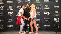 UFC 239 Media Day Face-offs