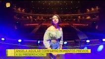 ¡ESTÁ IMPARABLE! Ángela Aguilar ya se presentó como solista y lo hizo en Modesto California. 92/