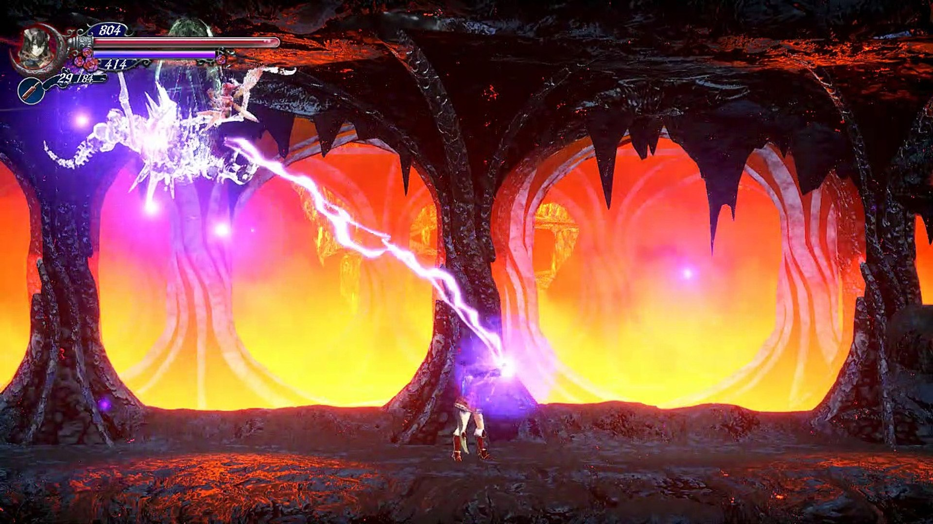 Bloodstained ROTN,Gameplay Español 13, El inversor de graveded y la armadura anti pinchos para subir
