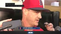 Steven Wright Discusses Reinstatement From Suspension