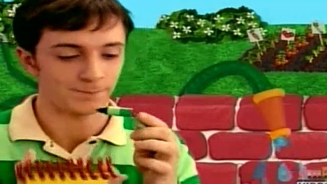 Blues Clues Season 2 Episode 18 - Blue Is Frustrated