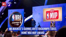 Giannis Antetokounmpo Is The NBA MVP