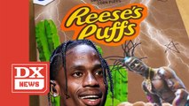 Travis Scott Is Selling Customized Reese's Puff Cereal Boxes For $50