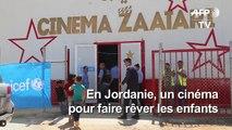 Jordanie: un cinéma apporte un peu de rêve aux enfants syriens réfugiés