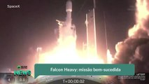 Falcon Heavy- missão bem-sucedida