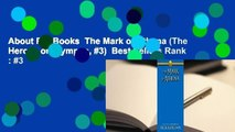 About For Books  The Mark of Athena (The Heroes of Olympus, #3)  Best Sellers Rank : #3