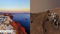 Santorini Volcanic Material Equivalent To That Found By Mars Rovers: Study