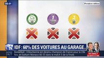 Circulation différenciée en Île-de-France: pour la première fois, les vignettes Crit'Air 3 doivent rester au garage