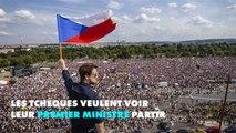 Prague: des centaines de milliers de personnes contre la corruption