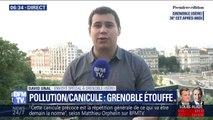 Grenoble suffoque sous la chaleur et la pollution, le Mont Blanc devrait lui frôler les 0°C ce mercredi