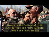 """""""I am with my family"""", the heart-warming story of PM Modi's Diwali celebrations."""