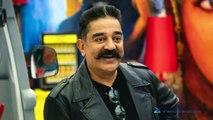 Actor kamal hassan wishing poet kannadhasan(Tamil)