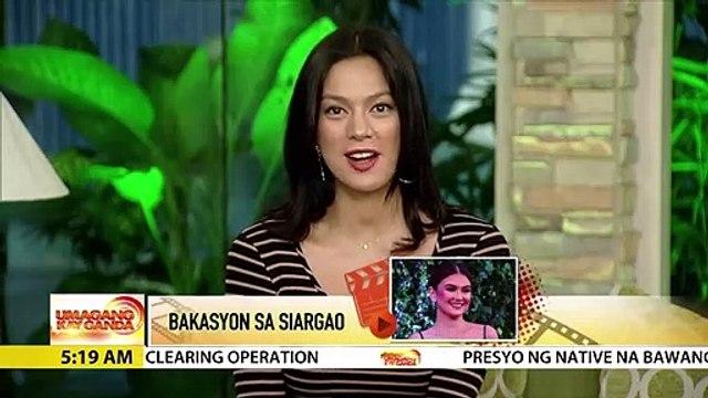 Angelica Panganiban, enjoy sa bakasyon sa Siargao | UKG