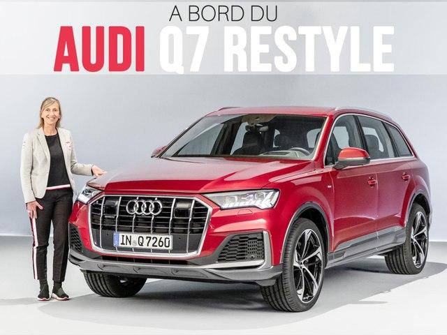 A bord de l'Audi Q7 restylé (2019)