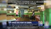 Héritage de Johnny : David Hallyday s'exprime sur la décision de justice en sa faveur