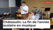 Châteaulin. Les élèves de l'école municipale de musique fêtent la fin de l'année