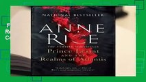 Full E-book  Prince Lestat and the Realms of Atlantis: The Vampire Chronicles Complete