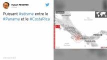 Séisme de 6,3 entre le Panama et le Costa Rica, des «dégâts significatifs» attendus