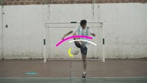Fußball-Freestyle-Tricks: Lemmens around the World