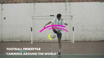 """Football freestyle: comment faire le """"Lemmens around the world"""""""