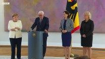 Merkel, sekiz gün içinde ikinci kez titreme nöbeti geçirdi