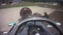 Grand Prix d'Autriche - Violent crash pour Bottas lors des essais libres 2