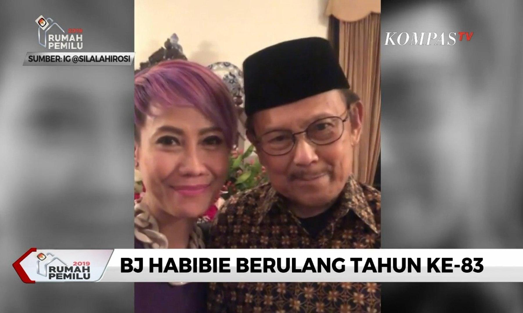 BJ Habibie Berulang Tahun Ke 83 Berbagai Kalangan Beri Ucapan Selamat