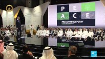 Kushner presents $50 billion plan for Middle East in Bahrain conference