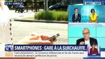 Smartphones: gare à la surchauffe