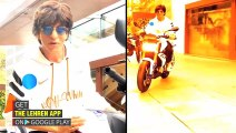Shah Rukh Khan Recreates Iconic Scene Of His First Film