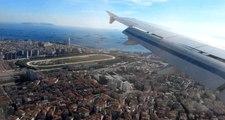 İstanbul semalarında büyük panik! Drone, uçağın 30 metre üzerinden geçti
